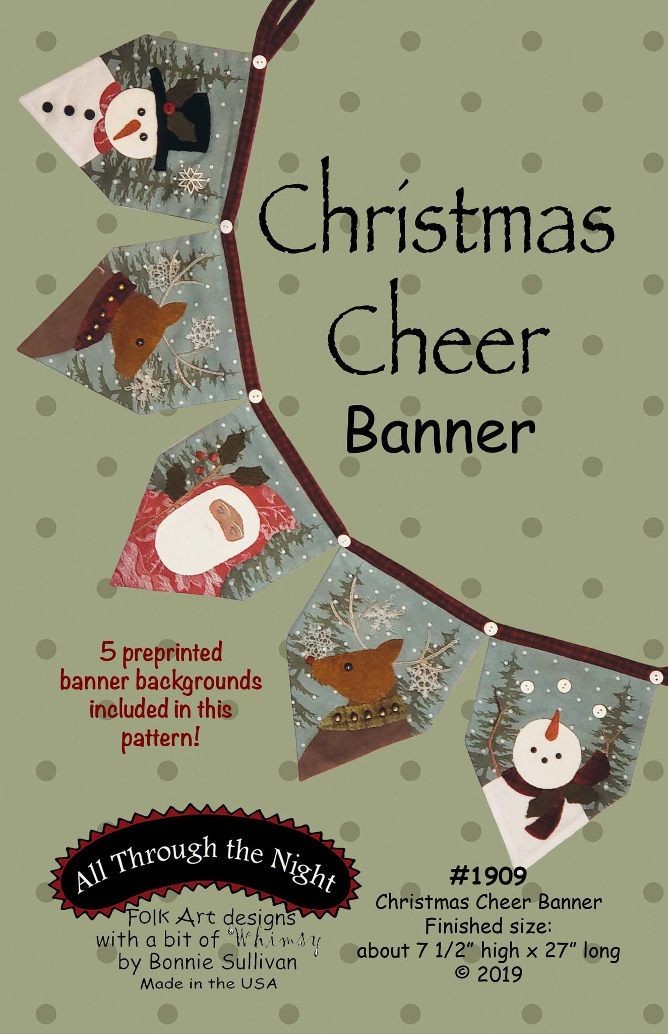 K1909 - Christmas Cheer Banner Kit