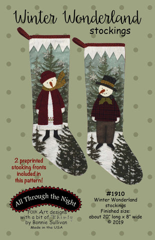 1910KIT - Winter Wonderland Stockings