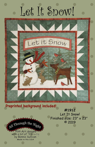 1912 Let it Snow!