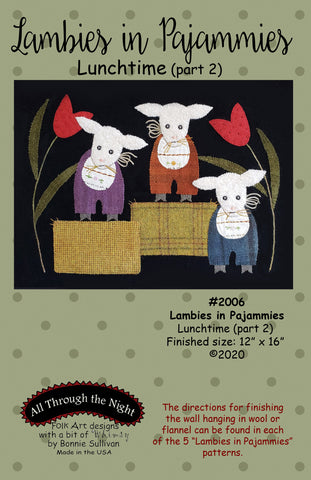 "2006 - Lambies in Pajammies ""Lunchtime"" (part2)"