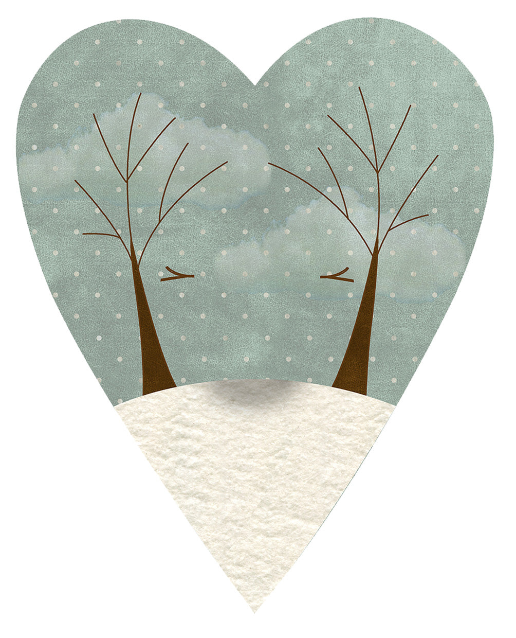 F2013 Seasons of the Heart (Winter) Preprinted Fabric
