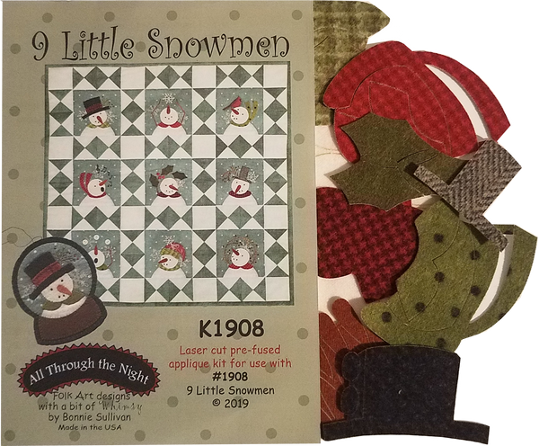 1908KIT - Nine Little Snowmen