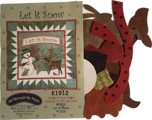 KA1912 Let It Snow! Applique Kit