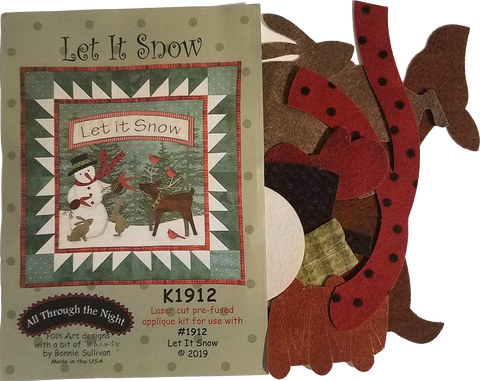 K1912 Let It Snow! Applique Kit