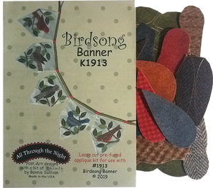 K1913 - Birdsong Banner Applique Kit