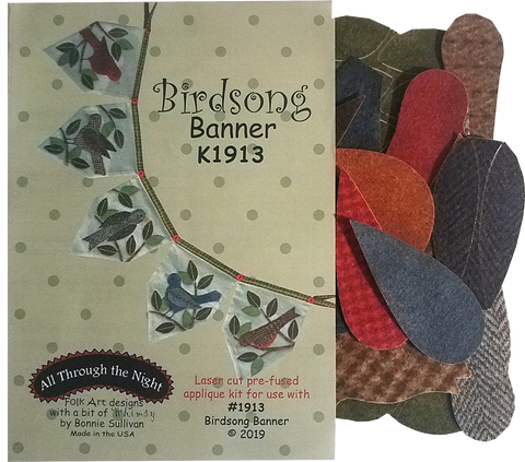 KA1913 - Birdsong Banner Applique Kit
