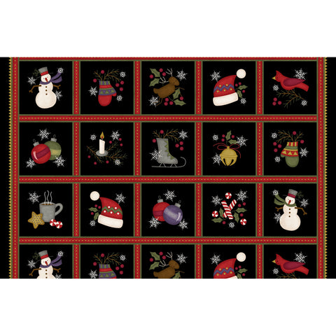 MASF9211-J - Most Wonderful Time Motif Squares
