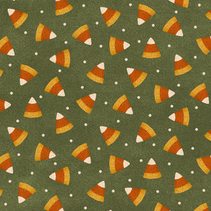MASF9402-G - Happy Jacks & Friends Flannel Candy Corn