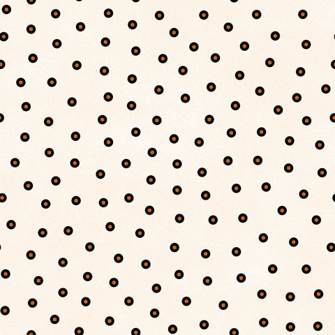 MASF9405-E - Happy Jacks & Friends Flannel Confetti Dots