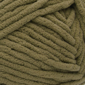 Olive Green Chenille-style Yarn Pack