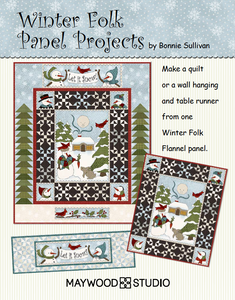 Free Download - Winter Folk Panel Projects by Bonnie Sullivan