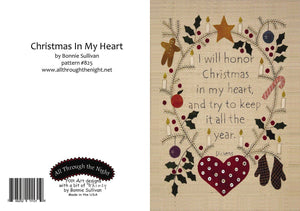 GC1555 - Christmas in my Heart Greeting Card