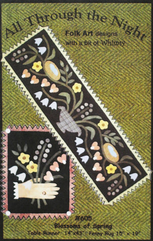 Susie/'s World In the Cherry Tree 1510 Cat Quilt Pattern All Through the Night