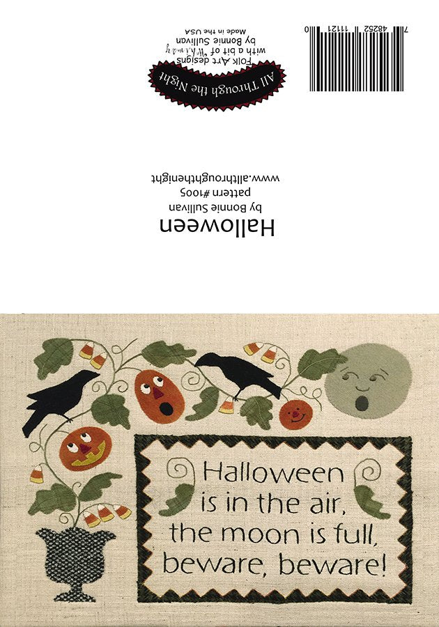 GC1554 - Halloween Greeting Card