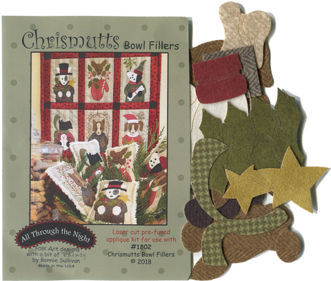 K1802 - Chrismutts Applique Kit