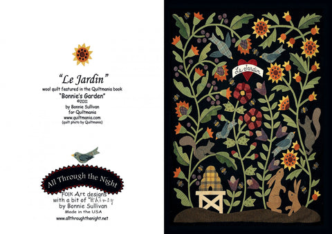 GC1506 - Le Jardin Greeting Card
