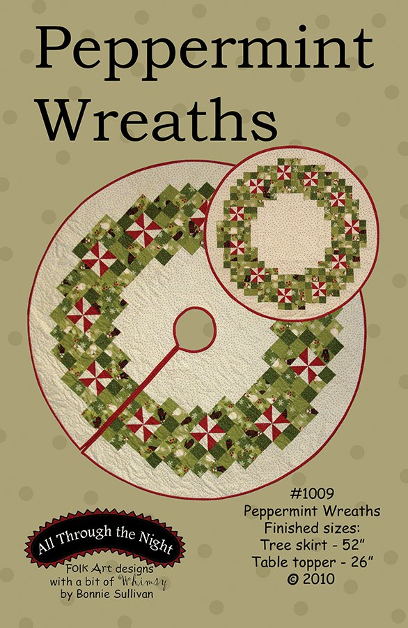 1009 - Peppermint Wreaths
