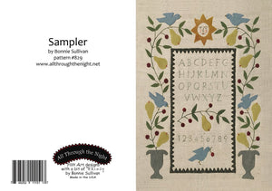 GC1557 - Sampler Greeting Card