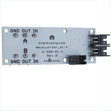 Dual AC Solid State Relay 1.2A with EFM Processor and Dual RS232 Interfaces