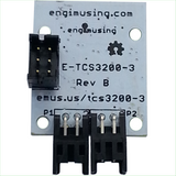 Frequency Color Sensor with EFM Processor and Dual RS232 Interfaces
