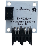 Accelerometer with EFM Processor and Dual RS232 Interfaces