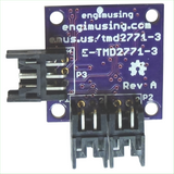 Proximity Detector with EFM Processor and Dual RS232 Interfaces