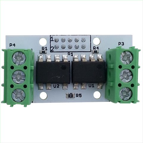 Dual AC Solid State Relay 1.2A with DF11 I/O Connector