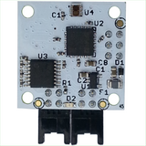 Digital Color Sensor with EFM Processor and Dual RS232 Interfaces