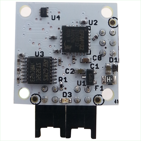 Temperature Sensor with EFM Processor and Dual RS232 Interfaces