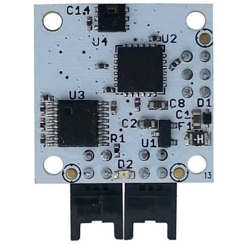 Humidity and Temperature Sensor with EFM Processor and Dual RS232 Interfaces