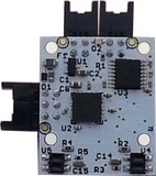 Reflective Object Sensor with EFM Processor and Dual RS232 Interfaces