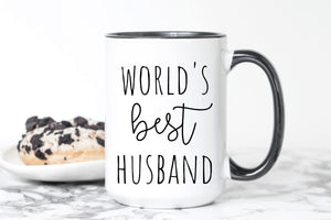 World's Best Husband Mug