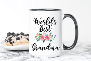 Worlds Best Grandma Mug
