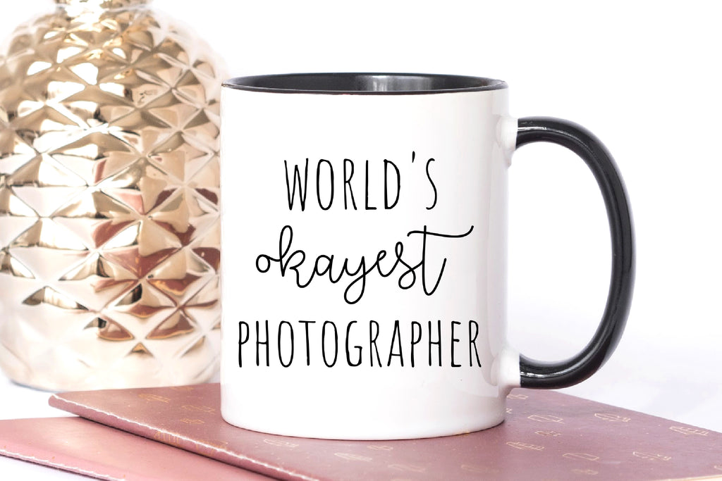 World's Okayest Photographer Mug
