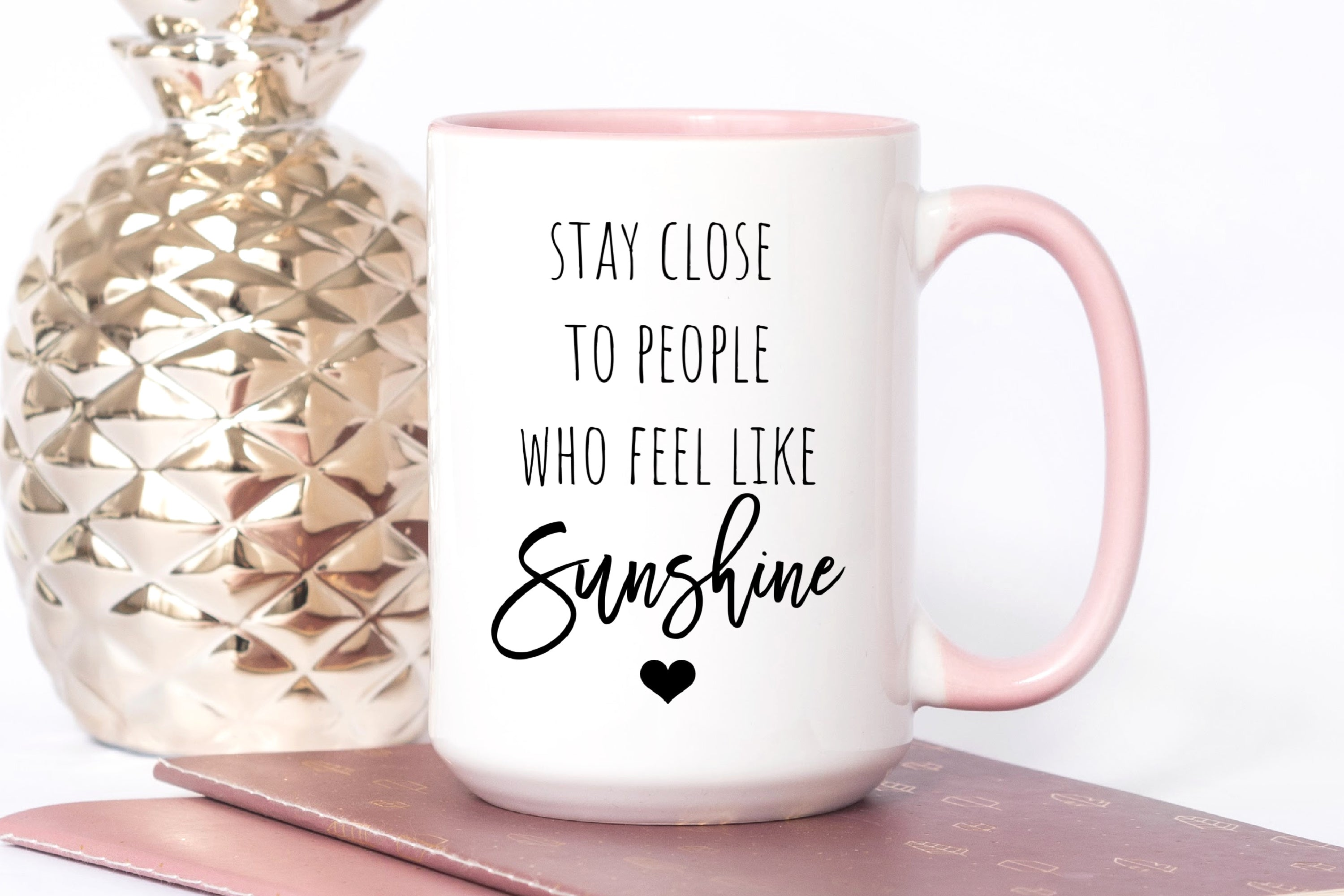 Coffee Mug with Friendship Quotes