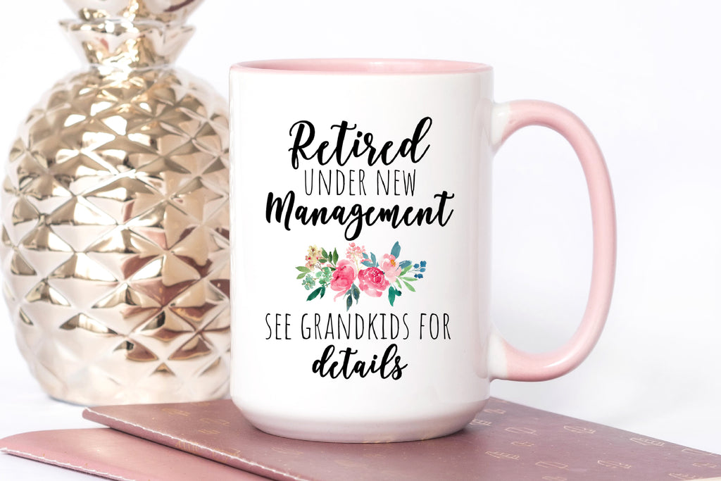 Grandma Retired Coffee Mug