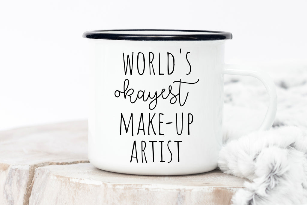 World's Okayest Make-Up Artist Mug
