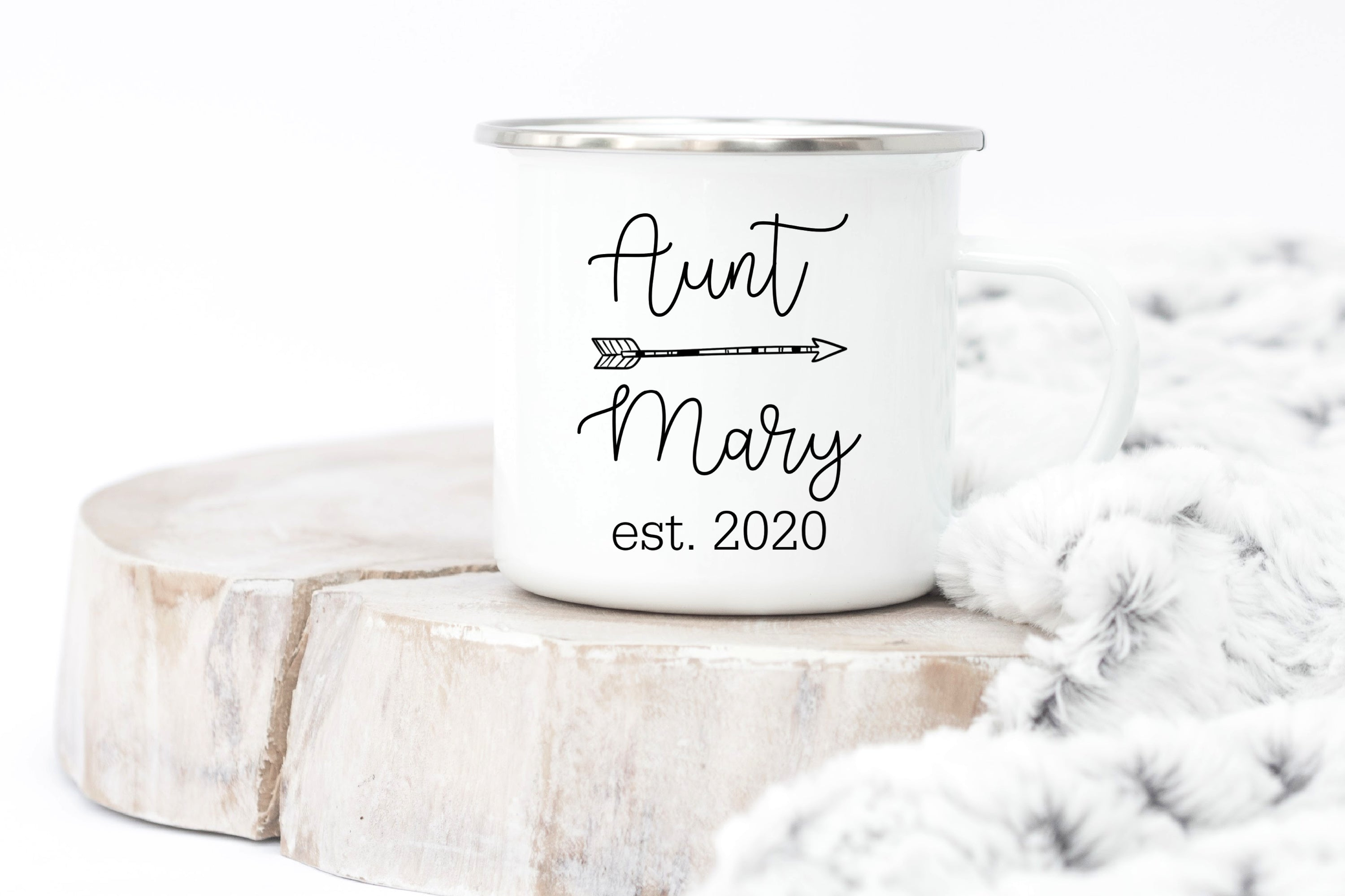 Personalized Aunt Mug with Name