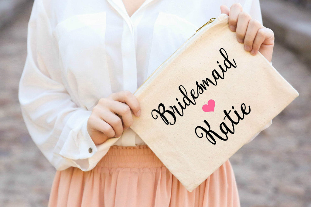 Personalized Bridesmaids bridal party gift