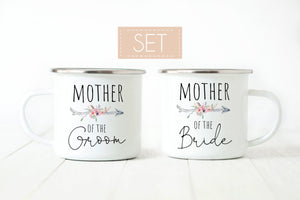 Mother of the Bride and Groom Mugs