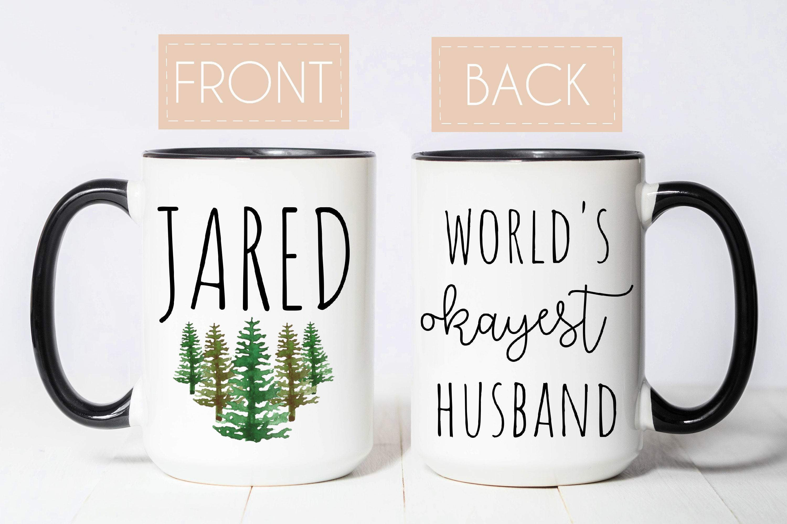 World's Okayest Husband Mug