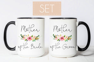 Mother of bride and groom mugs