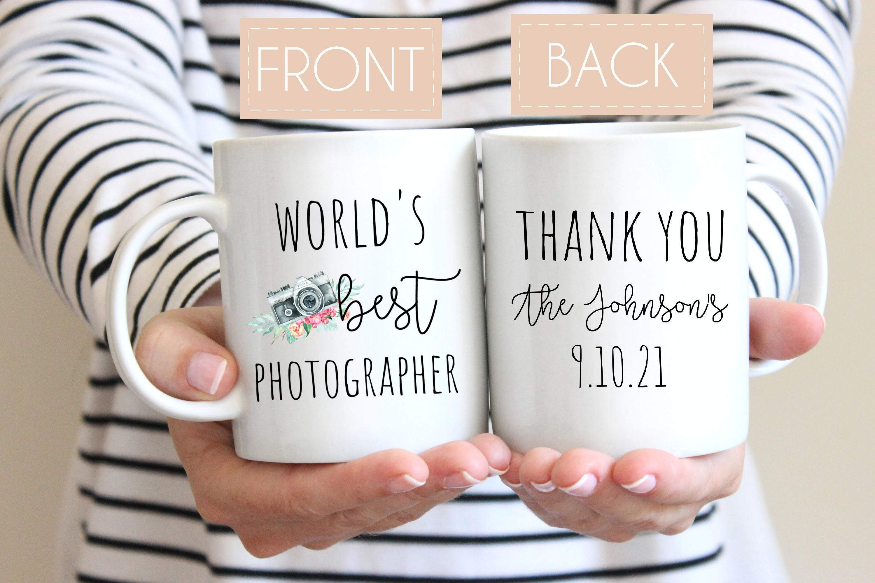 Wedding Photographer Mug