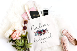 Bridesmaid totes