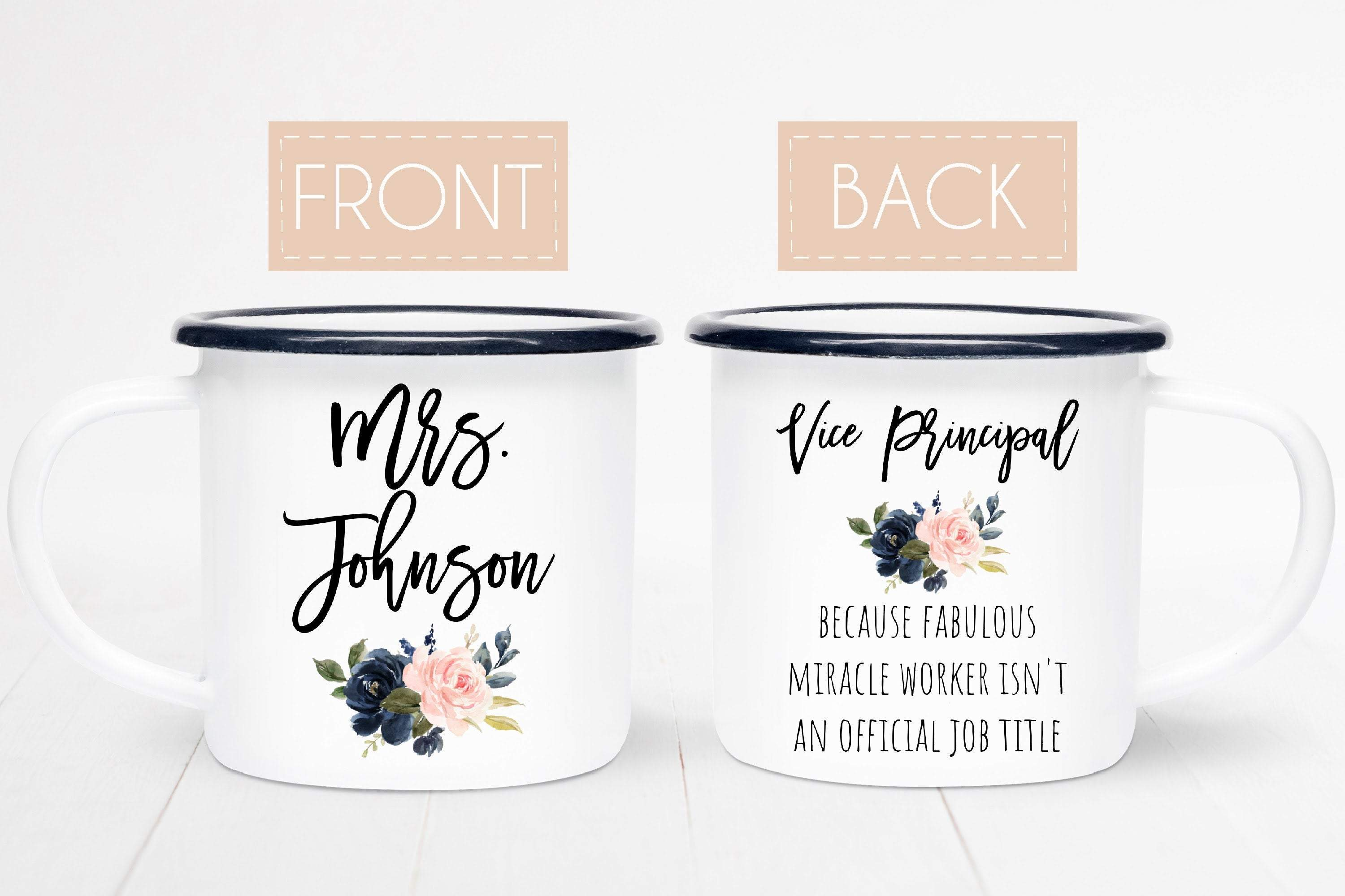 Assistant Principal Mug Personalized