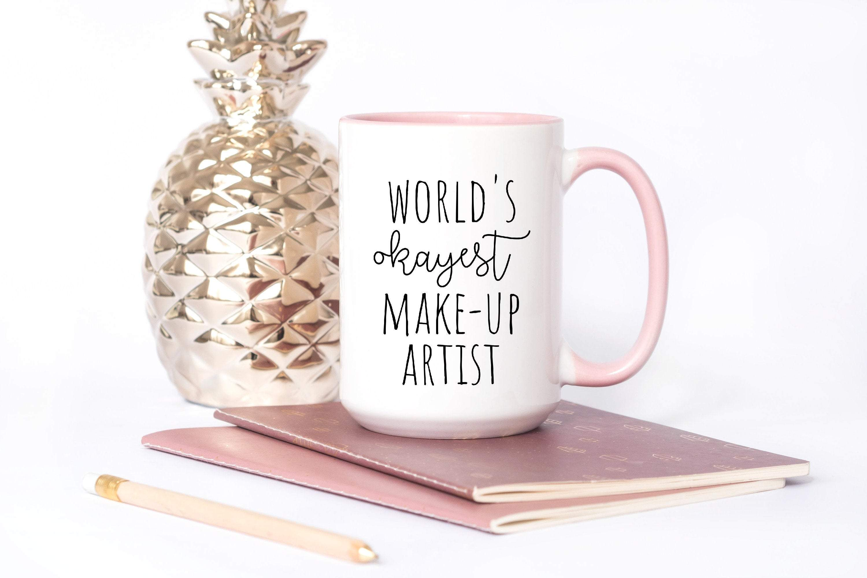 World's Okayest Make-Up Artist gift