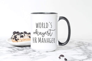 World's Okayest HR Manager gift
