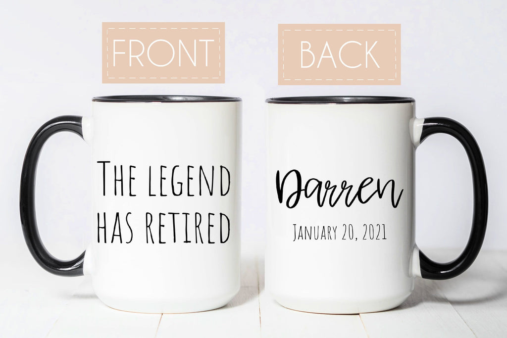 The Legend Has Retired 2020 Mug