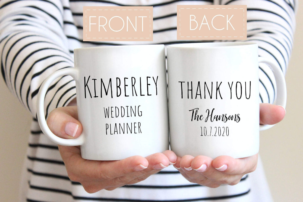 Wedding planner Personalized Mug