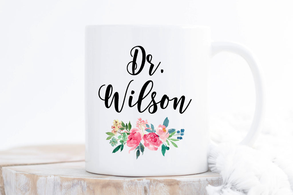 Personalized Gift Mug for Doctor